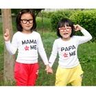 เสื้อแขนยาวPapa-Mama--สีขาว-(8-ตัว/pack)