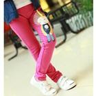 กางเกงขายาวตุ๊กตาเด็กหญิง-สีชมพู-(5-ตัว/pack)