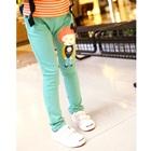 กางเกงขายาวตุ๊กตาเด็กหญิง-สีเขียว-(5-ตัว/pack)