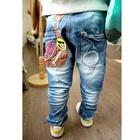 กางเกงยีนส์ขายาวกระเป๋าหลัง-Pow-(4size/pack)