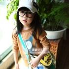 เสื้อยืดแขนยาวแมวเหมียวตาโต-สีกาแฟ-(5-ตัว/pack)