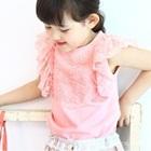 เสื้อแฟชั่นคุณหนูแขนสั้น-สีชมพู-(5-ตัว/pack)