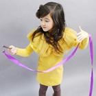 เดรสแขนยาวคุณหนูพองพองสีเหลือง-(5-ตัว/pack)