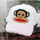 หมวกแก้ป-Paul-Frank-สีชมพู--(5-ใบ/แพ็ค)