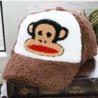 หมวกแก้ป-Paul-Frank-สีน้ำตาล-(5-ใบ/แพ็ค)