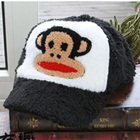 หมวกแก้ป-Paul-Frank-สีดำ-(5-ใบ/แพ็ค)