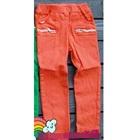 กางเกงขายาวซิปข้างที่กระเป๋า-สีส้ม-(5-ตัว/pack)