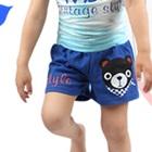 กางเกงแฟชั่น-สีฟ้า-(5size/pack)