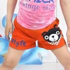 กางเกงแฟชั่น-สีส้ม-(5size/pack)
