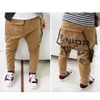 กางเกงขายาว-Harem-Sagging-สีน้ำตาล-(5-ตัว/pack)