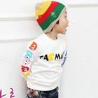 เสื้อแขนยาว-Pacman-สีขาว-(4size/pack)
