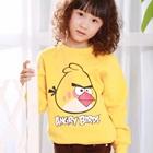 เสื้อยืดแขนยาว-Angry-Bird-สีเหลือง-(4size/pack)