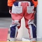 กางเกงขายาวธงชาติอังกฤษ-สีเทา-(4size/pack)