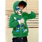 เสื้อกันหนาวแขนยาว-Cool-do-สีเขียว-(4size/pack)