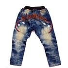 กางเกงยีนส์ขายาวเดอะสตาร์-สีน้ำเงิน-(4size/pack)