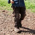 กางเกงขายาวกระเป๋าข้าง-สีน้ำตาล-(4size/pack)