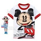 เสื้อยืดแขนสั้น-Mickey-Mouse-สีขาว(6size/pack)