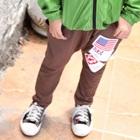 กางเกงขายาวอังกฤษและสหรัฐ-สีน้ำตาล-(4size/pack)