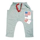 กางเกงขายาวอังกฤษและสหรัฐ-สีเทา-(4size/pack)