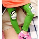 กางเกงเลกกิ้ง-Paul-Frank-สีเขียว-(5-ตัว-/pack)