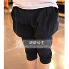 กางเกงขายาวเอวยืดพอง-พอง-สีดำ-(5-ตัว/pack)