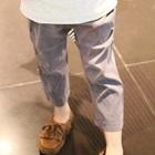 กางเกงขายาวเอวยืดพอง-พอง-สีเทา-(5-ตัว/pack)