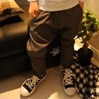 กางเกงขายาวเอวยืด-สีดำ-(5-ตัว/pack)