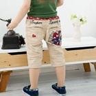 กางเกงขาสามส่วน-Spider-man-สีเบจ-(4-ตัว/pack)
