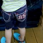 กางเกงขาสามส่วน-85-สีน้ำเงิน-(4-ตัว/pack)