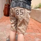 กางเกงขาสามส่วน-85-สีกากี(4-ตัว/pack)