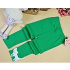 กางเกงเลกกิ้งแมวเหมียว-สีเขียว-(5-ตัว-/pack)