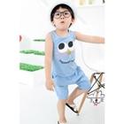 เซ็ตเสื้อกางเกง-Sugar-Mint-สีฟ้า-(5-ตัว/pack)