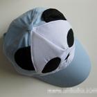 หมวกแก้ปหมีแพนด้า-สีฟ้า--(5-ใบ/แพ็ค)