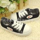 รองเท้าผ้าใบคอนเวิร์ส-F-สีดำ-(size-29-35-7-คู่)-