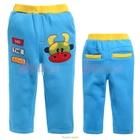 กางเกงขายาวควายยิ้มแย้ม-สีฟ้าอ่อน--(5size/pack)