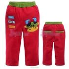 กางเกงขายาวควายยิ้มแย้ม-สีแดง--(5size/pack)