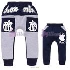 กางเกงขายาว-Apple-สีน้ำเงินเทา-(5size/pack)