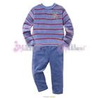 ชุดเสื้อกางเกงกวางน้อย-สีฟ้า--(5size/pack)