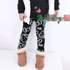 กางเกงเลกกิ้งลาย-HELLO-KITTY--สีดำ-(5-ตัว-/pack)