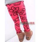 กางเกงเลกกิ้งลาย-HELLO-KITTY--สีชมพู(5-ตัว-/pack)
