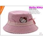 หมวก-Hello-Kitty-ลายจุดสีชมพู(5-ใบ/แพ็ค)