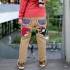 กางเกงขายาว-Angry-Bird-สีน้ำตาล(4-ตัว/pack)