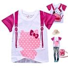เสื้อยืด-คิตตี้สีชมพู-(6-ตัว/pack)