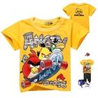 เสื้อยืด-angry-bird-สีเหลือง(6-ตัว/pack)