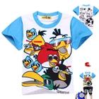 เสื้อยืด-angry-bird-สีฟ้า(6-ตัว/pack)