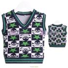 เสื้อสเว็ตเตอร์แขนกุด-The-Star-สีเขียว-(6ตัว/pack)