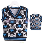 เสื้อสเว็ตเตอร์แขนกุด-The-Star-สีฟ้า(6ตัว/pack)