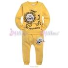 ชุดเสื้อกางเกงสิงโตแสนซน-สีเหลือง-(5-ตัว/pack)