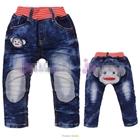 กางเกงยีนส์ขายาวลิงปากแดง-(5-ตัว/pack)
