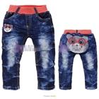 กางเกงยีนส์ขายาวหมีใส่แว่น-(5-ตัว/pack)